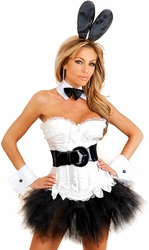 6 PC Sexy Bunny Costume (IN STOCK)