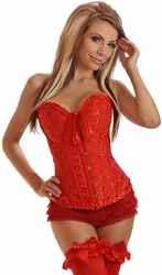 Embroidered Burlesque Corset