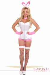 Lavish 5 PC Pink Bunny Costume - IN STOCK