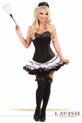 Lavish French Maid Corset Costume