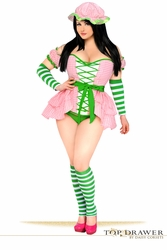Top Drawer 5 PC Strawberry Girl Costume (SOLD OUT)