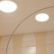 "6"" radius round glass top corner"
