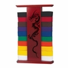 Dragon Table Top Martial Art Belt Display Rack - 10 Level
