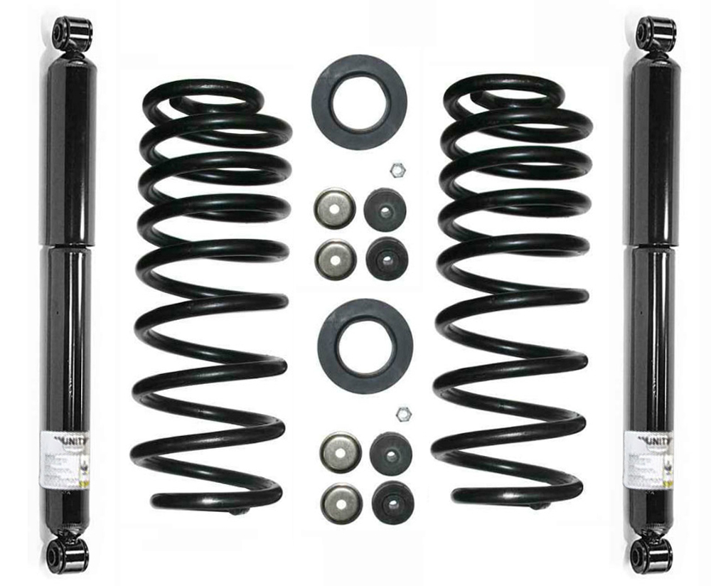 Converting To Coil Spring Conversion From Air Suspension Autos Post