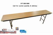 """18"""" x 96"""" Used Commercial folding tables"""