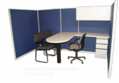 5x10 Instant Office Cubicle
