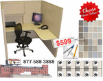Cubicles on sale