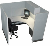 Herman Miller 6' x 6' Action Cubicle