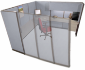 8' x 8' Office Cubicle