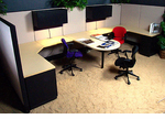 Herman Miller Double Team Cubicle