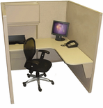 "Steelcase 5' x 5' "" Cubicle"