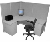 Steelcase 5' x 6' Cubicle