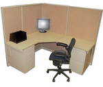"Steelcase 5' x 6' "" Cubicle"