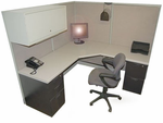 "Steelcase 6' x 6' "" Cubicle"