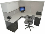 "Steelcase 6x6 ""Promotions"" Cubicle"