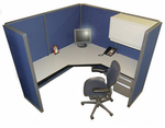 Steelcase 6' x 6' Cubicle