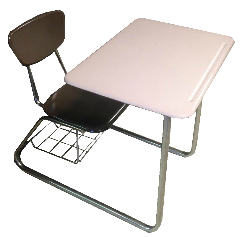used combo school desk 3