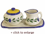 Bella Flora Sugar and Creamer Set