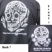 Day of the Dead t-shirt - Made in Los Angeles, CA