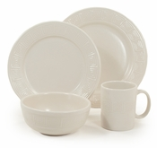 "Frank Lloyd Wright  ""Whirling Arrow""  4-piece Place Setting with mug"