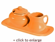 Mango Sugar and Creamer Set