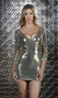 3/4 Sleeve Sequin Dress - Devnya