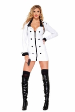 4 Piece Mobster Minx Costume