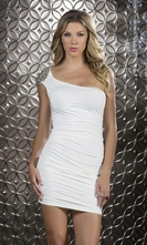 Body Con Beaded Mini Dress - Splendor