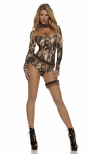 Captivating Camo Soldier Costume