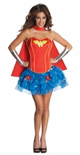 Flirty Wonder Woman Costume