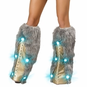 Light-Up Robot Legwarmers