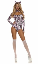 Luscious Leopard Sexy Cat Costume
