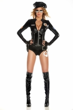 Mrs Officer Cop Costume