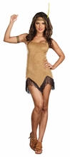 Prances With Wolves Indian Girl Costume