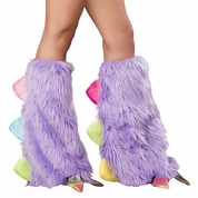 Rainbow Dragon Legwarmers