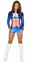 Sexy All American Hero Costume