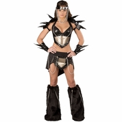 Sexy Black Warrior Costume