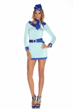 Sky High Hostess - Flight Attendant Costume