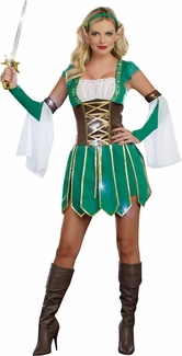 Warrior Elf Costume