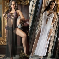D1403 3pc Love Flyaway Babydoll & Glove Set by Gworld