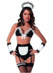 49024H Downstairs Maid Costume Set by Escante