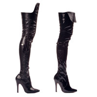 "Ellie 511-SIMONE 5"" Heel Boot With Whip  <br>Size 6-14"