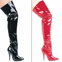 "Ellie SUSIE 5"" Heel Thigh High Boots.  <br>Size 5-14"
