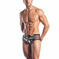 Fishnet Camo Brief - EE19