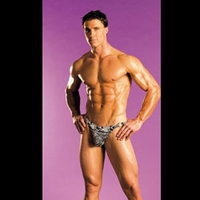 Men's Animal Print Thong- E17