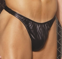 Men's Classic Leather Thong  # L9141 One Size or XLarge