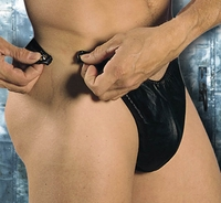 Men's Leather Break Away Thong 24-901