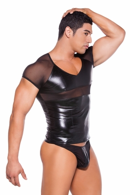 Mens Zeus Wet Look Fetish Inspired Clothing