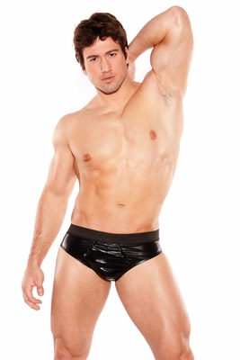 Men's Zeus Wet Look Underwear Line  by Allure Lingerie