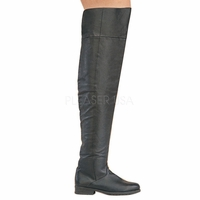 Maverick-8824  Mens Leather Thigh Boot by Pleaser